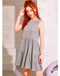 Фустан - код 4471 - сиво