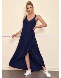 Фустан - код 3083 - темно сина