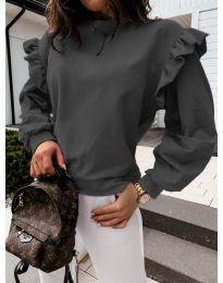Блуза - код 6613 - црна