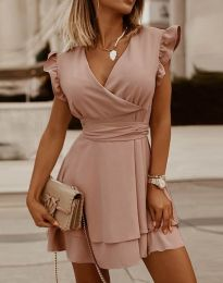 Фустан - код 5654 - розова