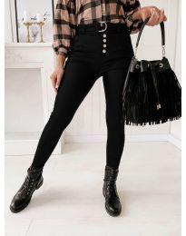 Панталони - код 9095 - 2 - црна