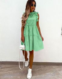 Фустан - код 2663 - зелена