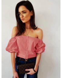 Блуза - код 243 - пудра
