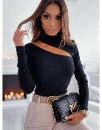 Блуза - код 11490 - црна