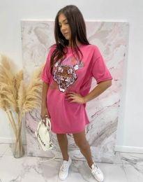 Фустан - код 11864 - розова