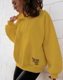 Блуза - код 4229 - жолта