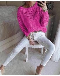Блуза - код 6182 - циклама