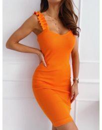 Фустан - код 029 - портокалова
