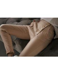 Панталони - код 954 - кремова