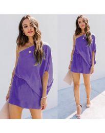 Фустан - код 9933 - виолетова