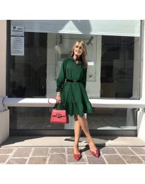 Фустан - код 960 - темно зелена