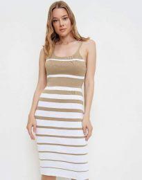 Фустан - код 0998 - кремова