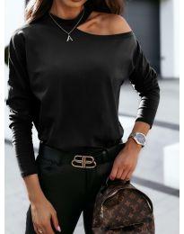 Блуза - код 41511 - црна
