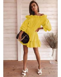 Фустан - код 3386 - жолта