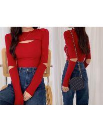Блуза - код 0566 - црвена