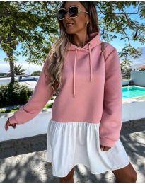 Фустан - код 6947 - розова