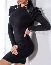 Фустан - код 9652 - 3 - црна