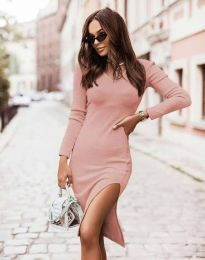 Фустан - код 6593 - розова