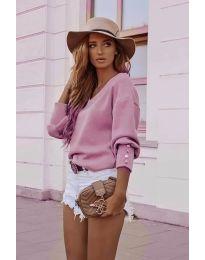 Блуза - код 812 - розова