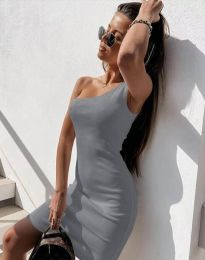 Фустан - код 6412 - сиво