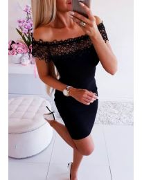 Фустан - код 3105 - црна