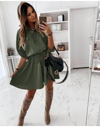 Фустан - код 5856 - зелена