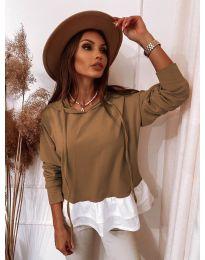 Блуза - код 3898 - капучино