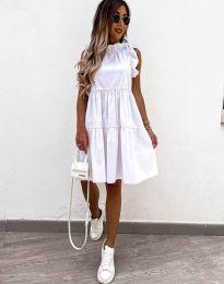 Фустан - код 2663 - бело