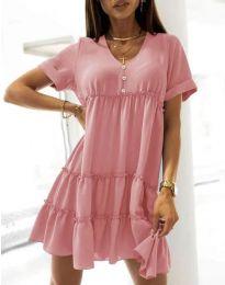 Фустан - код 7205 - розова