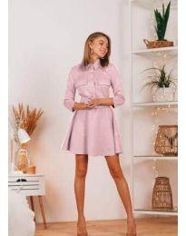 Фустан - код 6619 - розова