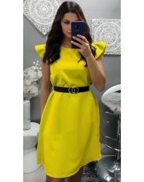 Фустан - код 703 - жолта