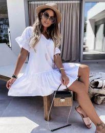 Фустан - код 6144 - бела