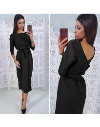 Фустан - код 974 - црна