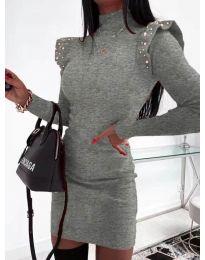 Фустан - код 2323 - графитна