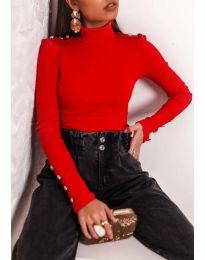 Блуза - код 11514 - црвена