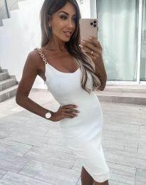 Фустан - код 2765 - бело