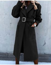 Палто - код 423 - црна