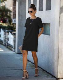 Фустан - код 4408 - црна