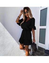 Фустан - код 2566 - црна