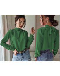Блуза - код 833 - зелена