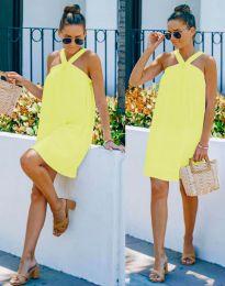Фустан - код 9103 - жолта