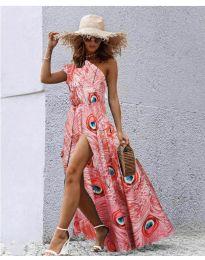 Фустан - код 7770 - розова