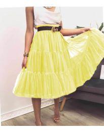 Сукња - код 2060 - жолта