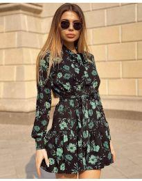 Фустан - код 6555 - 3 - шарена