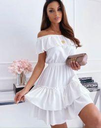 Фустан - код 6777 - бело