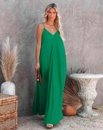 Фустан - код 4673 - зелена
