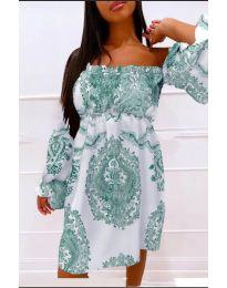 Фустан - код 757 - зелена