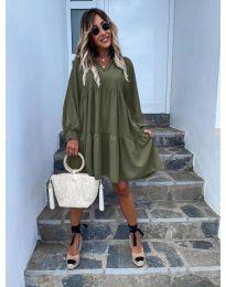Фустан - код 6643 - путер зелена