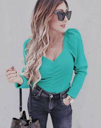 Блуза - код 394 - ментол