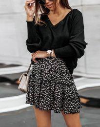 Блуза - код 0657 - 2 - црна